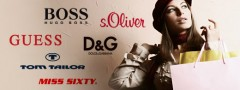 D & G, GUESS und s. Oliver um nur ein paar Marken zu nennen!